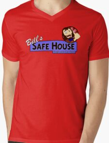 Bill's Safe House - THE LAST OF US Mens V-Neck T-Shirt