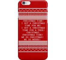 Britta Christmas sweater Quote iPhone Case/Skin