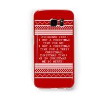 Britta Christmas sweater Quote Samsung Galaxy Case/Skin