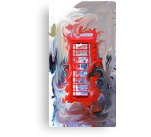 Red Hot Wire Canvas Print
