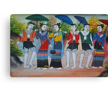 Troupe Canvas Print