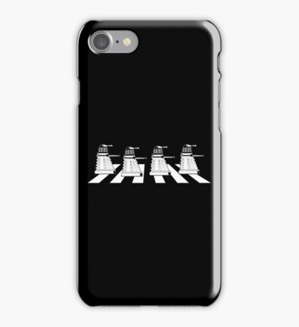 EXTERMINATE ROAD Daleks on Abbey Road Dr Who The Beatles ! - T Shirts , Hoodies , Mugs , Scarves & Much More iPhone Case/Skin