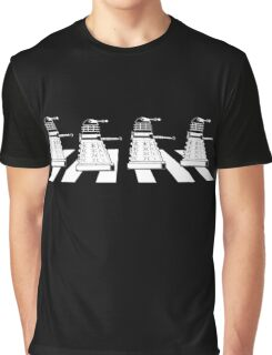 EXTERMINATE ROAD Daleks on Abbey Road Dr Who The Beatles ! - T Shirts , Hoodies , Mugs , Scarves & Much More Graphic T-Shirt