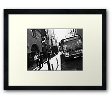 Paris viewing angle Framed Print