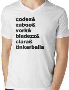 Knights of Good Sticker Mens V-Neck T-Shirt