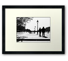 Paris viewing angleParis viewing angle Framed Print