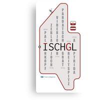 ISCHGL Matrix Canvas Print