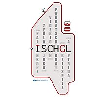 ISCHGL Matrix Photographic Print