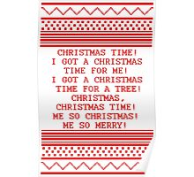 Britta Christmas sweater Quote Poster