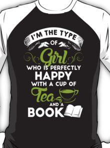 Tea And A Book T-Shirt