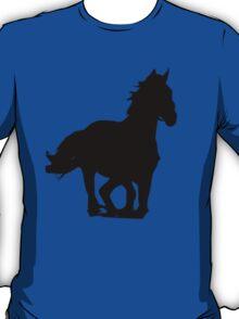 galloping horse t-shirt  T-Shirt