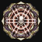 Demonskull Mandala no.2 by wu-wei