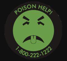 Retro Mr.Yuk poison Baby Tee