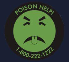 Retro Mr.Yuk poison Kids Tee