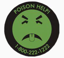 Retro Mr.Yuk poison by ShineTime
