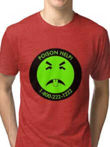 Retro Mr.Yuk poison Tri-blend T-Shirt