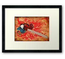 Ash vs Evil Dead Framed Print
