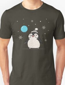 Christmas Penguin Balloon T-Shirt