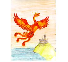 Fawkes The Phoenix Photographic Print
