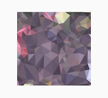 Cyber Grape Purple Abstract Low Polygon Background Unisex T-Shirt