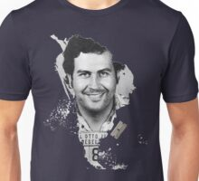 Pablo Escobar Mugshot Continent 2B   #232323 Unisex T-Shirt