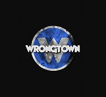 Wrongtown iPhone Case by houseAU