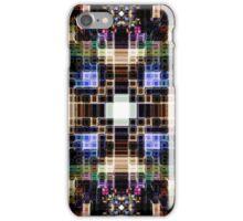 Glowing Geometric Cubes iPhone Case/Skin