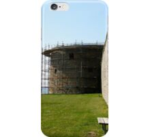 Medieval wall reconstruction iPhone Case/Skin