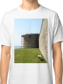 Medieval wall reconstruction Classic T-Shirt