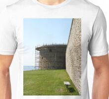 Medieval wall reconstruction Unisex T-Shirt