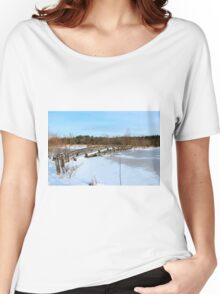 The Herrestadsjön bridge II Women's Relaxed Fit T-Shirt