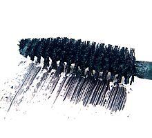 Black Mascara Photographic Print