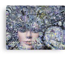 Electronic Love Canvas Print