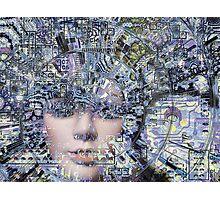 Electronic Love Photographic Print