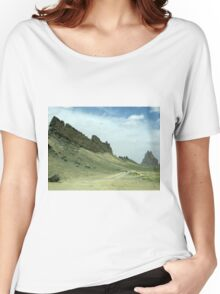 Shiprock, New Mexico Women's Relaxed Fit T-Shirt