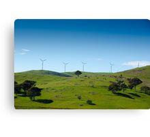 Wind Farm - Blayney  Canvas Print