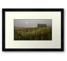 Sunrise at Black Sage Framed Print
