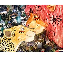 lion king collage Photographic Print
