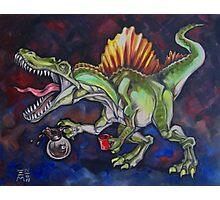 Caffeinosaurus Photographic Print