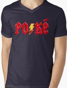 For Those About to Shock Mens V-Neck T-Shirt