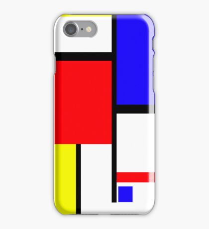 Method in the Mondrian iPhone Case/Skin