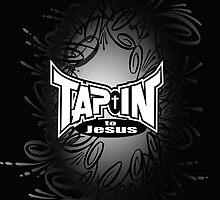 Tap-In to Jesus black bg  by cfurguson