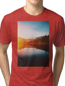 Lake Matheson Tri-blend T-Shirt