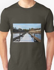 The Herrestadsjön bridge I Unisex T-Shirt