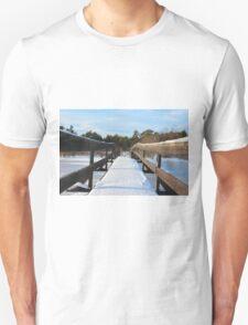 The Herrestadsjön bridge I Unisex T-Shirt