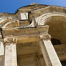 Of Arches and Stone Carvings - St. Catherine of Italy Church in Valletta, Malta by Georgia Mizuleva