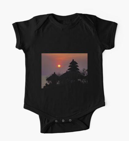 Tanah Lot Sunset One Piece - Short Sleeve
