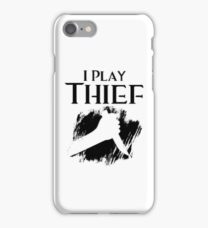 I Play Thief iPhone Case/Skin