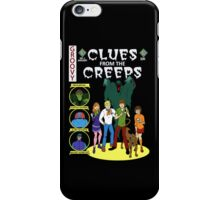 Clues From the Creeps iPhone Case/Skin