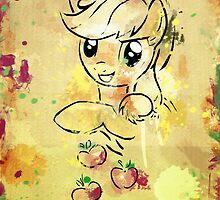 Poster: Applejack by Han Zhao